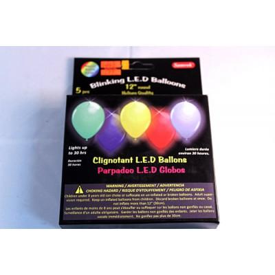 Ballons avec lumières L.E.D.