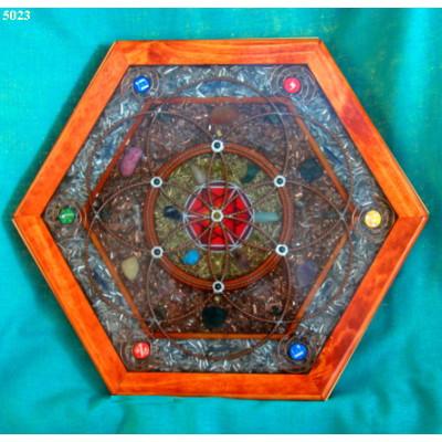 Plateau thérapeutique hexagonal