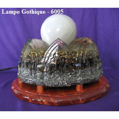 lampe d'Orgonite gothique