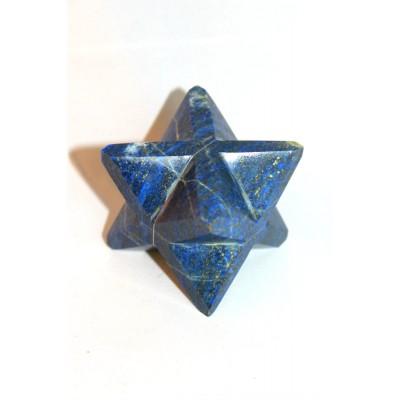 Merkaba en pierre Lapiz lazuli