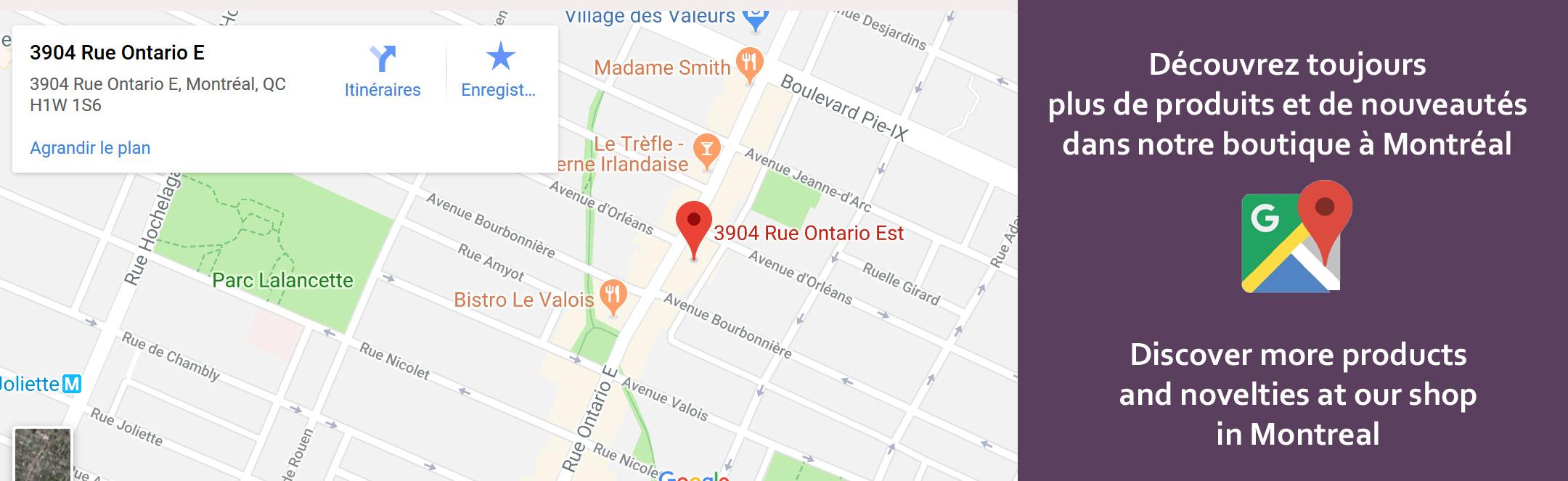 boutique pikottine Montréal